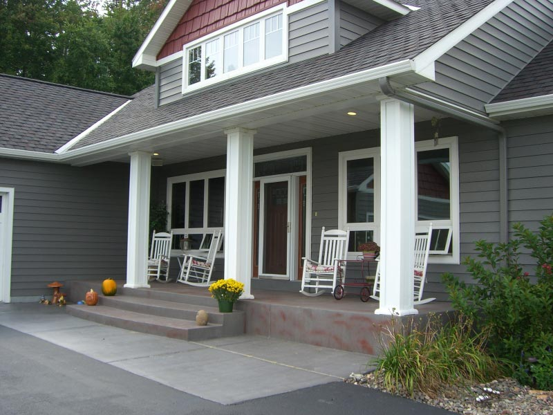 exterior entry way of home