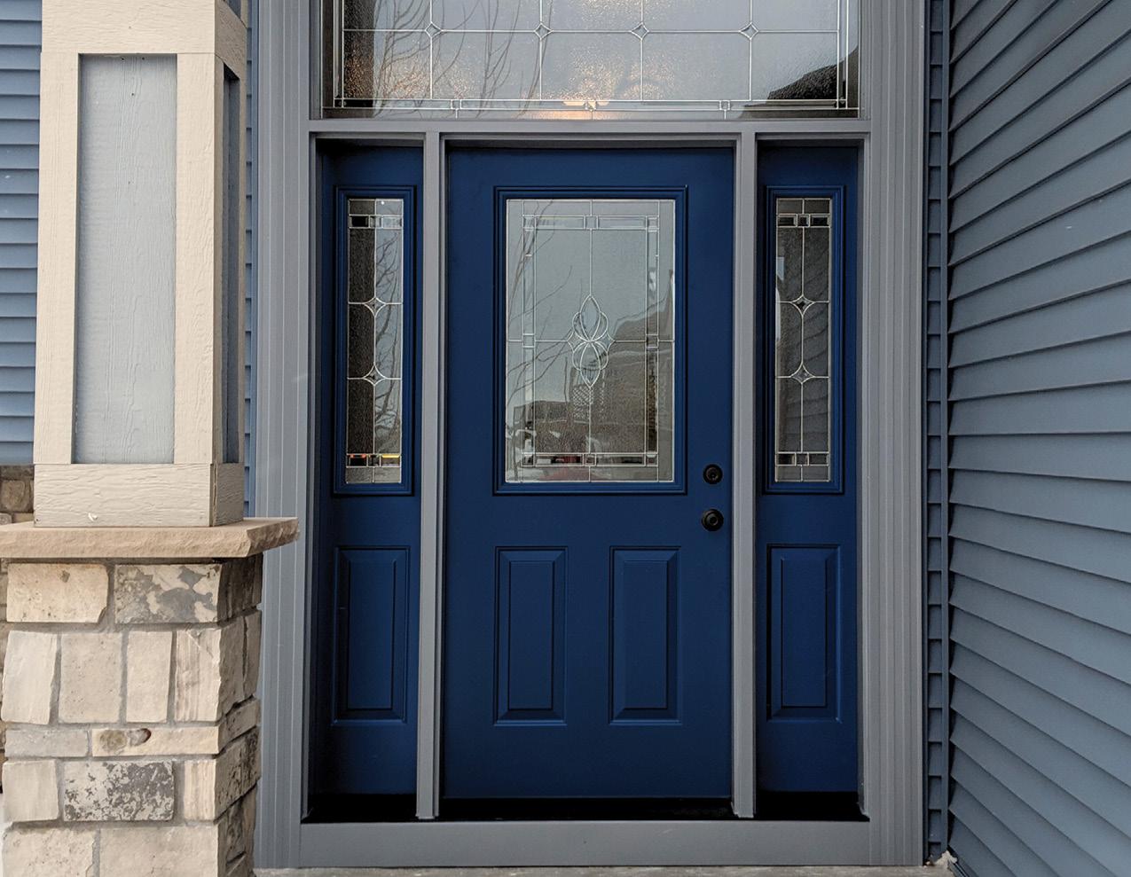 Provia Entry Door - Deep Blue