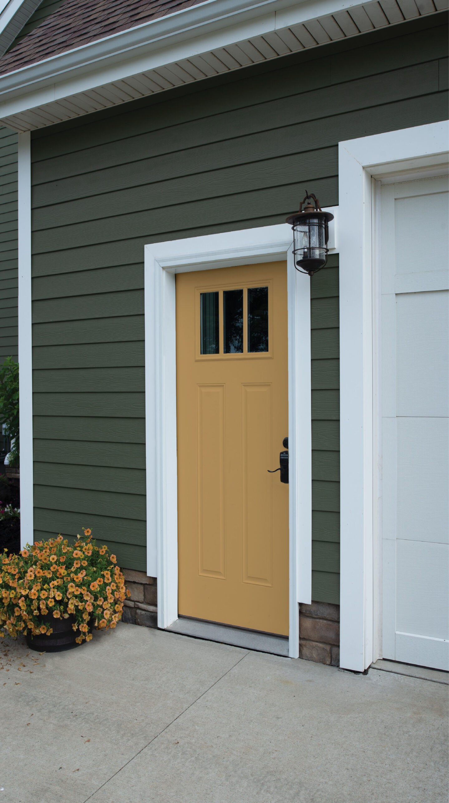 Provia Entry Door - Goldenrod