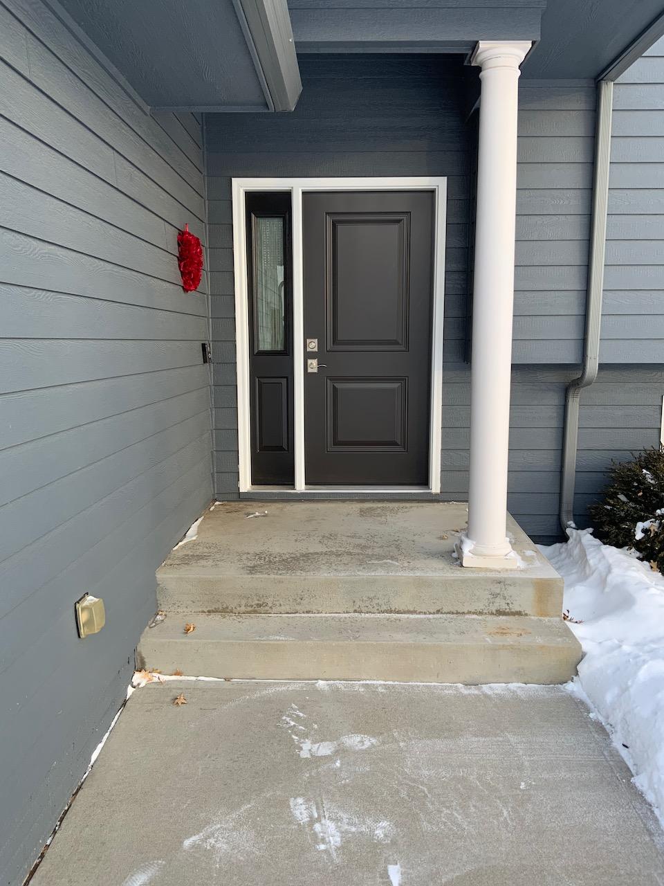 Provia Entry Door- Dark Bronze