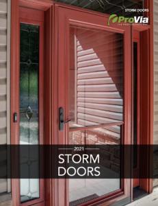 Provia Storm Door Catalog Download PDF