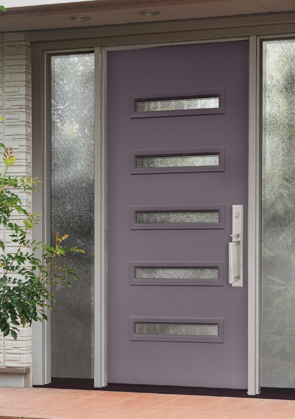 Provia Entry Door - Plum